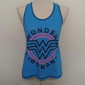 Wonder Woman racer back tank